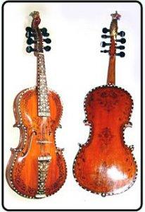 Скрипка Хардангер (Хардингфелле)