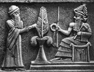 Древние шумеры. Трон