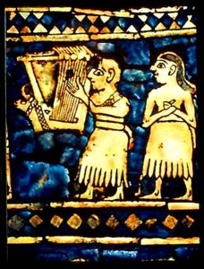 История Месопотамии. Мозаика