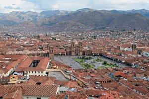Город Куско - столица империи Инков